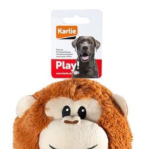 Koiran lelu pehmoapina tennispallo