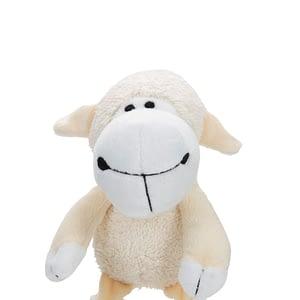 koiran lelu pehmolammas luonnonvalkoinen 21cm 108937