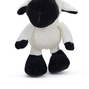 koiran lelu pehmolammas mustavalkoinen 21cm 108937