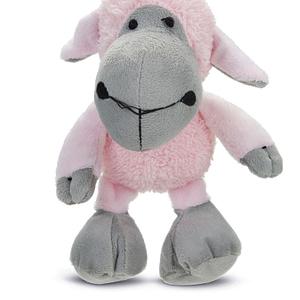 koiran lelu pehmolammas pinkki 21cm 108937