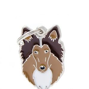 Nimilaatta kaiverruksella - koirarotu-nimilaatta collie
