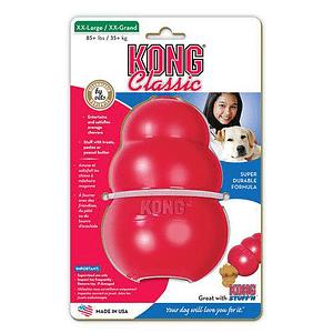 Koiran Lelu Kong Classic Punainen XXL