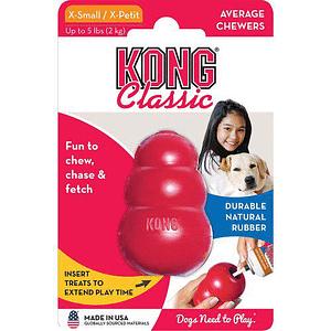 Koiran Lelu Kong Classic Punainen
