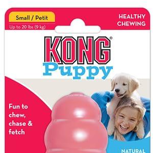 Koiran Lelu Kong Puppy Pinkki