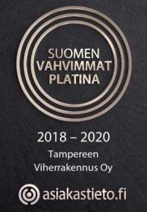 PL LOGO Tampereen Viherrakennus