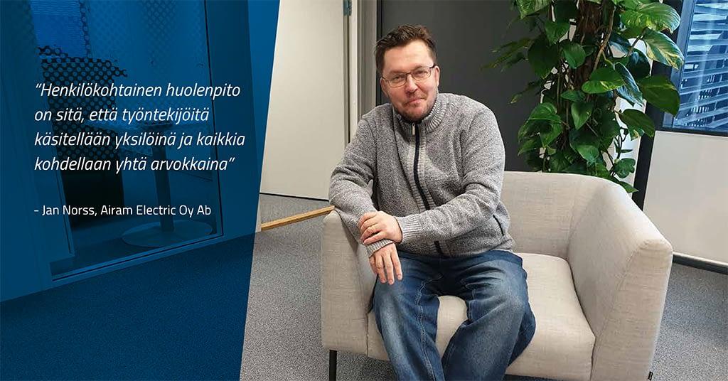 Airam ja PolarPro huolehtivat työntekijöistä yhteistyössä
