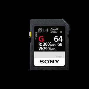 Sony SDXC G Series 64GB Class 10 UHS-II