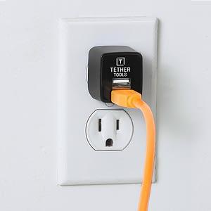 Tether Tools Dual USB seinälaturi