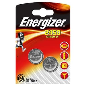 Energizer CR2450 Lithium 3V