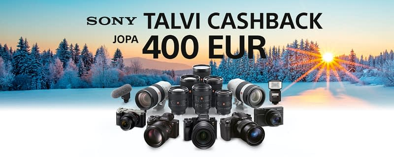 Sony winter cashback
