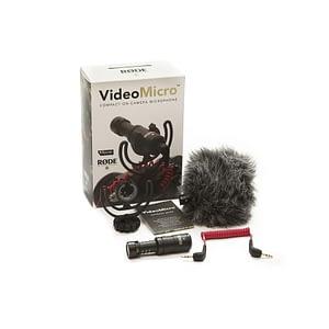 Rode VideoMicro Mikrofoni DSLR-kameroille