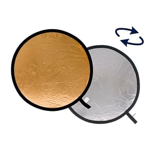 Lastolite Collapsible Reflector 95cm Silver / Gold
