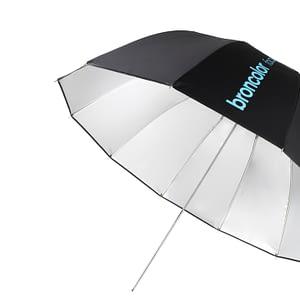 """Broncolor Focus 110 umbrella silver/black Ø 110 cm (43.3"""")"""