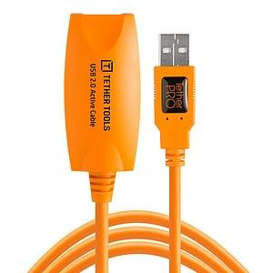 Tether Tools USB 2.0 aktiivinen jatkokaapeli 4,9m