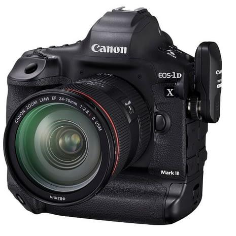 Canon EOS-1D X Mark III and WFT-E9B